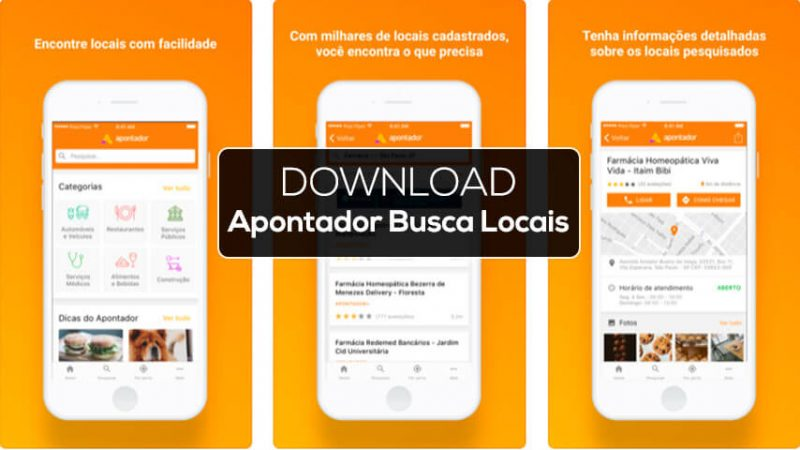 Apontador Busca Local