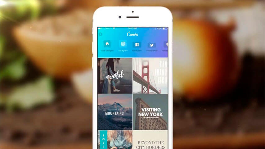 Compatibilidade do Canva para iPhone
