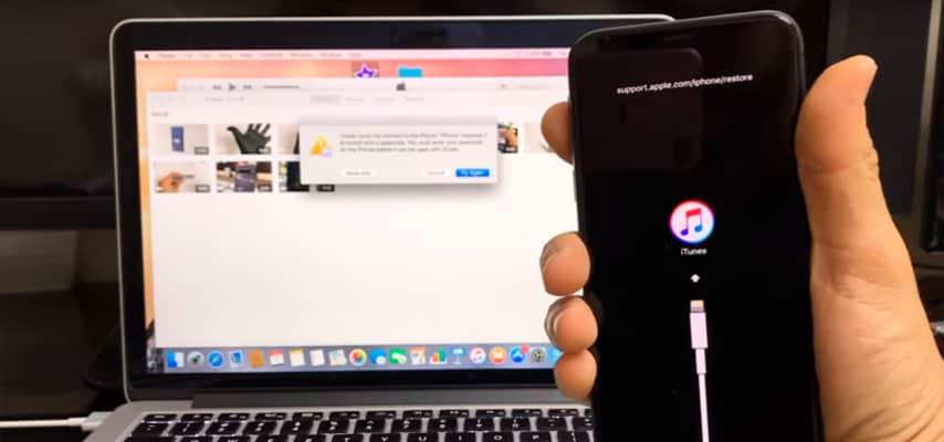 Como fazer o Hard Reset do iPhone X através do iTunes