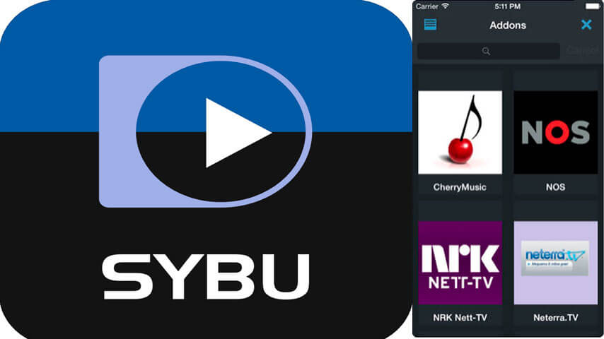 Sybu Para O Seu Kodi TV