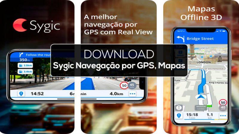 Sygic Navegação Por GPS Mapas