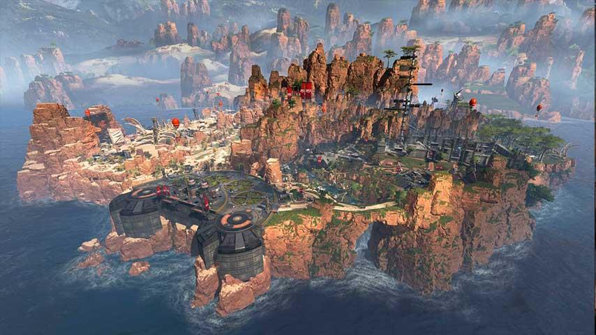 Mapa Desfiladeiro do Rei (Alto nível)
