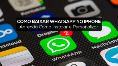 Como Baixar WhatsApp no iPhone