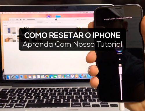 Como Resetar iPhone | Formate Seu iPhone Para Ajuste de Fábrica!