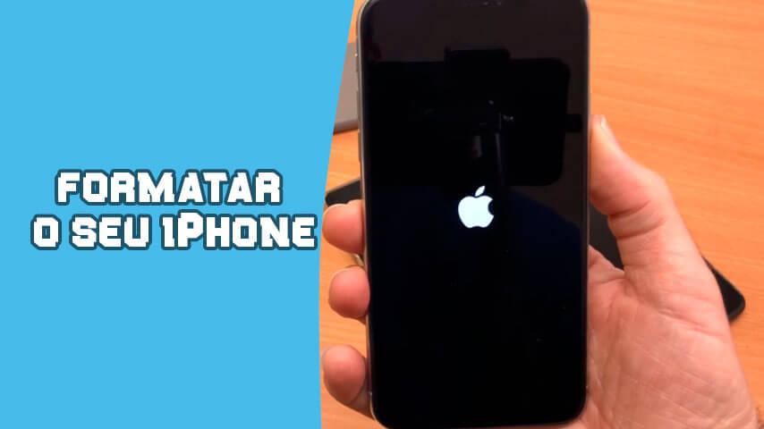 Formatar iPhone